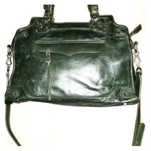 Rebecca Minkoff hunter green satchel
